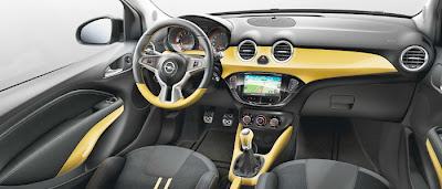 Opel Adam Slam la interior