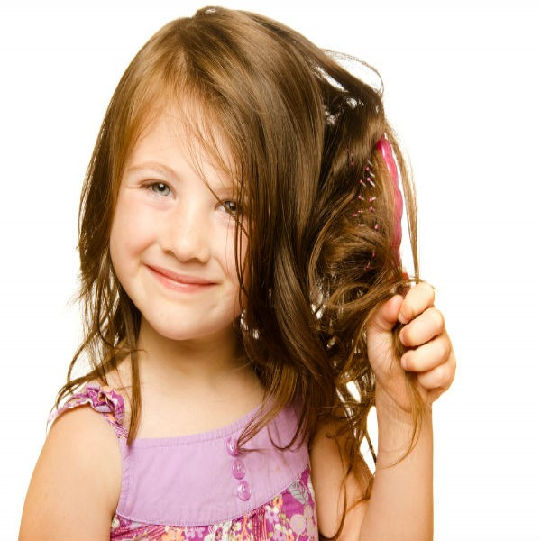 Tratamento para crianças de acordo com o tipo de cabelo