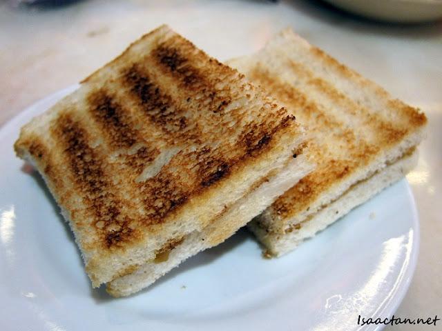 Onde Onde Desa Parkcity toasted bread