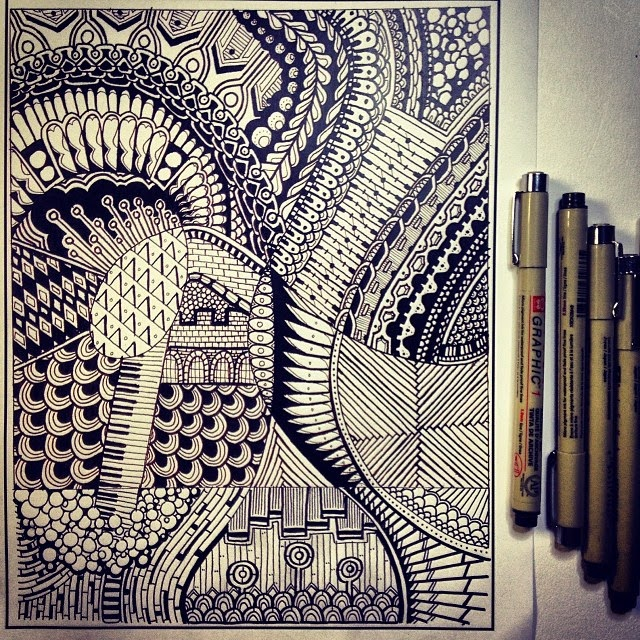 20-Peter-Deligdisch-Love-for-the-Doodle-Drawing-www-designstack-co