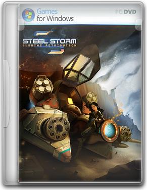 Capa Steel Storm: Burning Retribution   PC (Completo) 2011