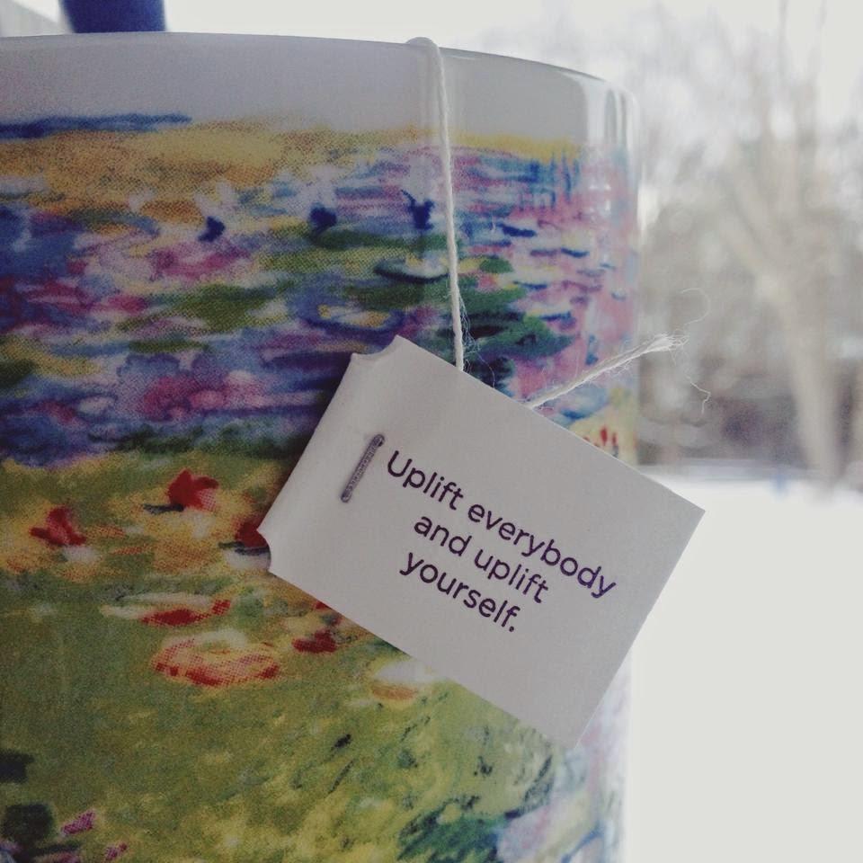 february favorites, 2015, beauty, blogger, christian, yogi, yogi tea, tea, monet, mug, quotes, inspirational, winter, snow, pretty, vanilla spice
