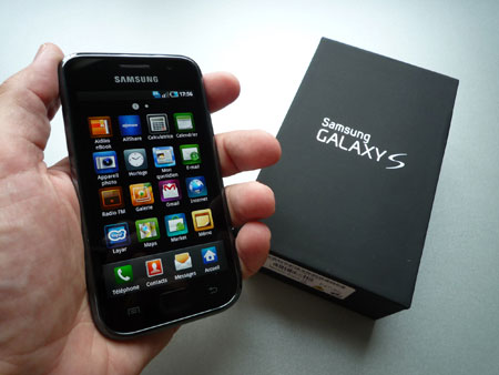 samsung galaxy s I9000 hands on unboxing