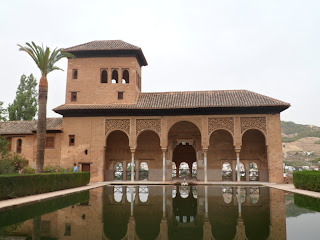 Alhambra Palace in Granada, Southern Spain