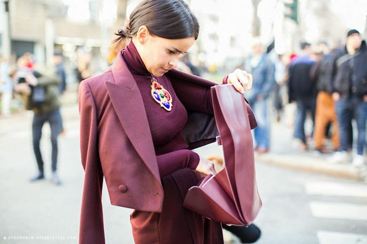 Inspiration: Burgundy time!
