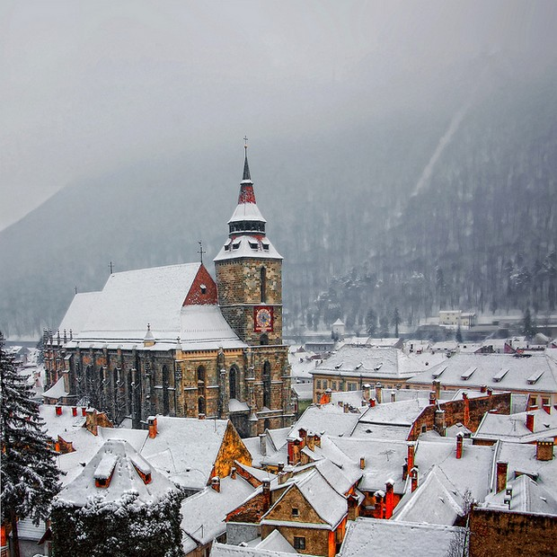 A winter tale - Brasov, Romania