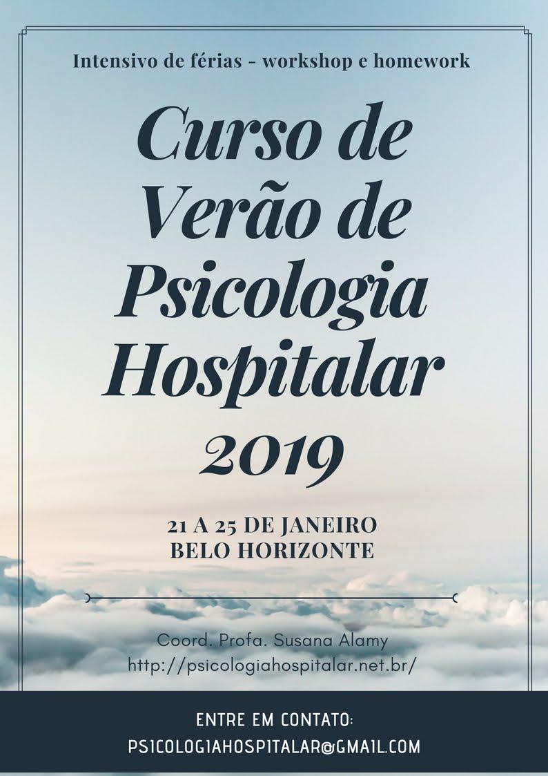 Curso de Verão de Psicologia Hospitalar 2019