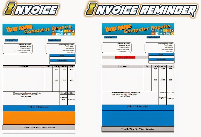 business templates forms pc repair leaflets flyer business cards business start up pack. Black Bedroom Furniture Sets. Home Design Ideas