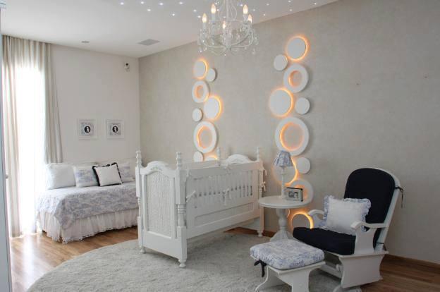 Construindo Minha Casa Clean Quartos de Bebê! Modernos e  ~ Quarto Rosa Pedra