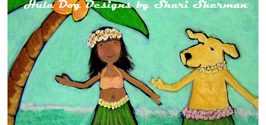 DASHBOARD HULA by Shari Sherman