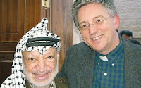 Yasser Arafat and Stephen Sizer