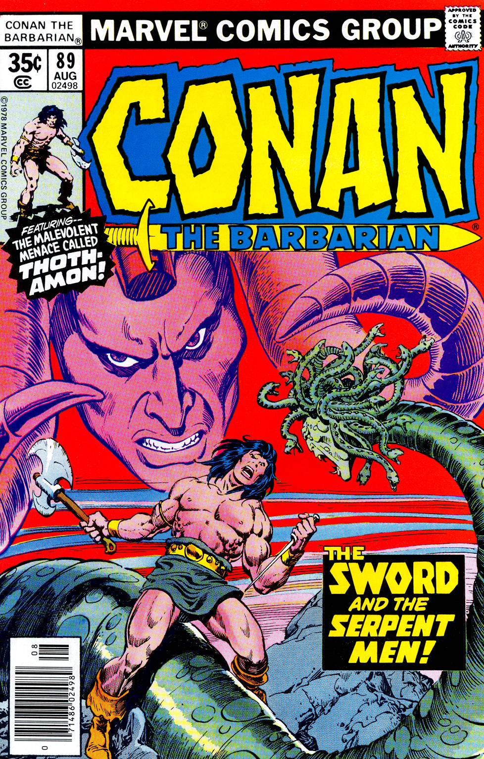 Conan the Barbarian (1970) Issue #89 #101 - English 1