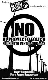 ¡NO AL PROYECTO EÓLICO!
