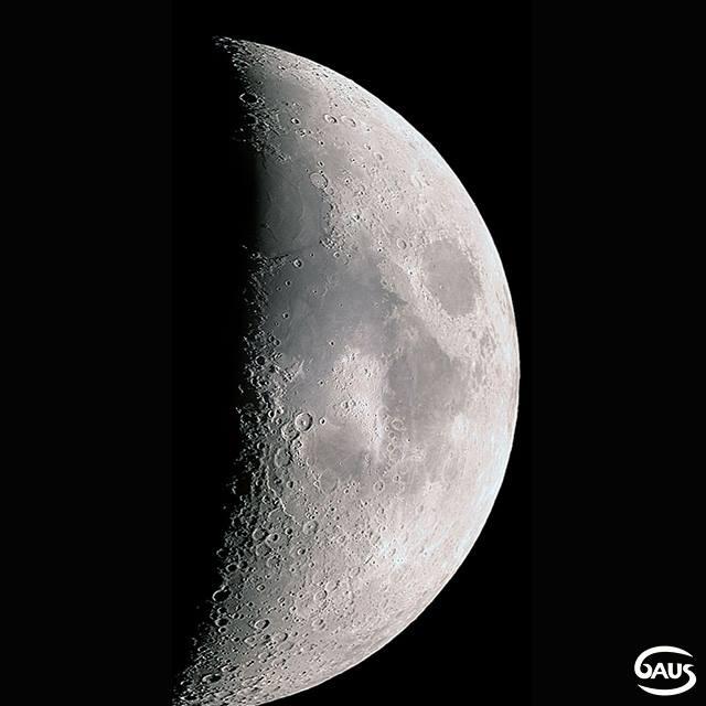 Luna en Cuarto Creciente\