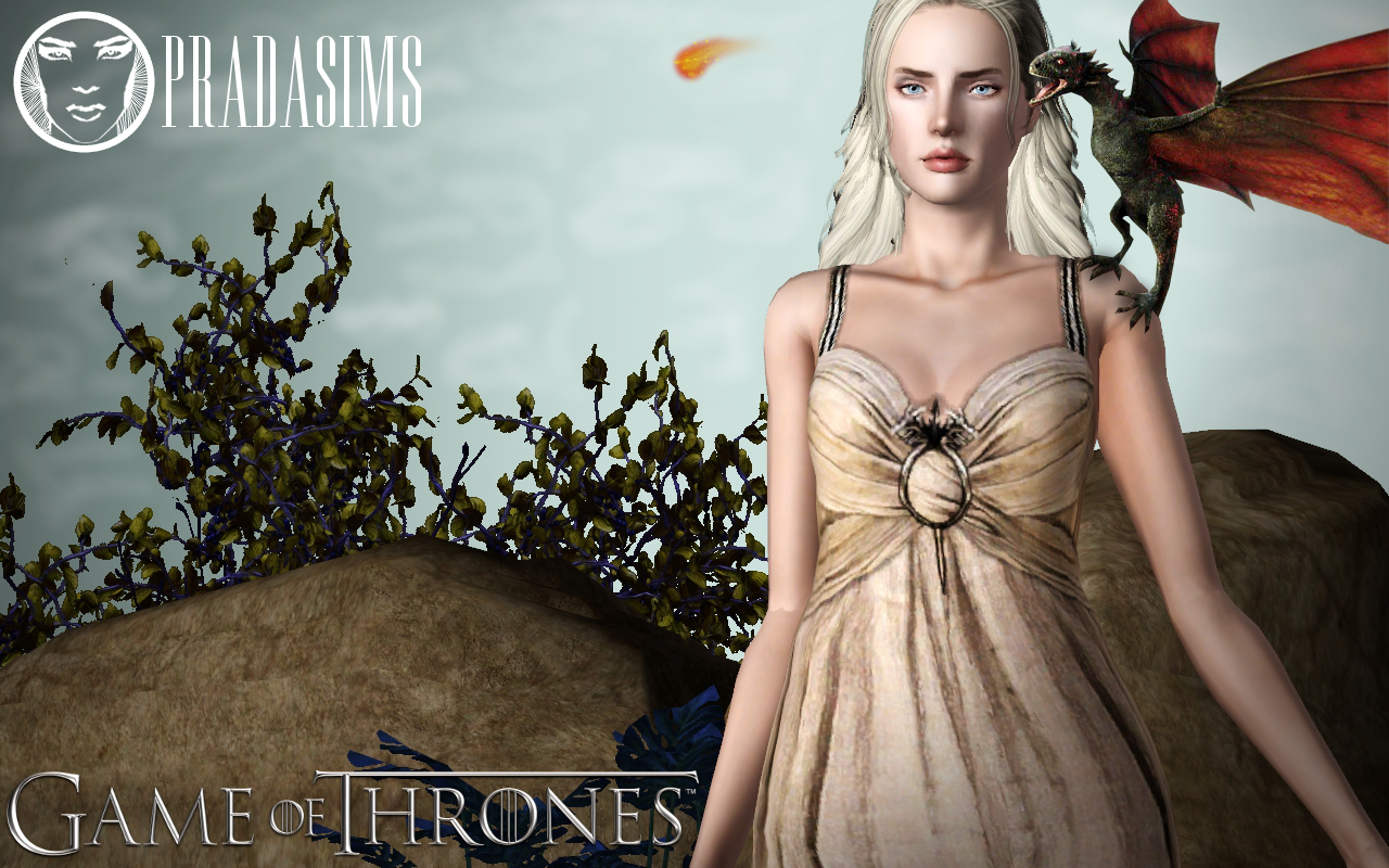 My Sims 3 Blog: Khaleesi´s Wedding Dress by Justin 58