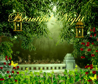 Beautiful Night digital fantasy backgrounds