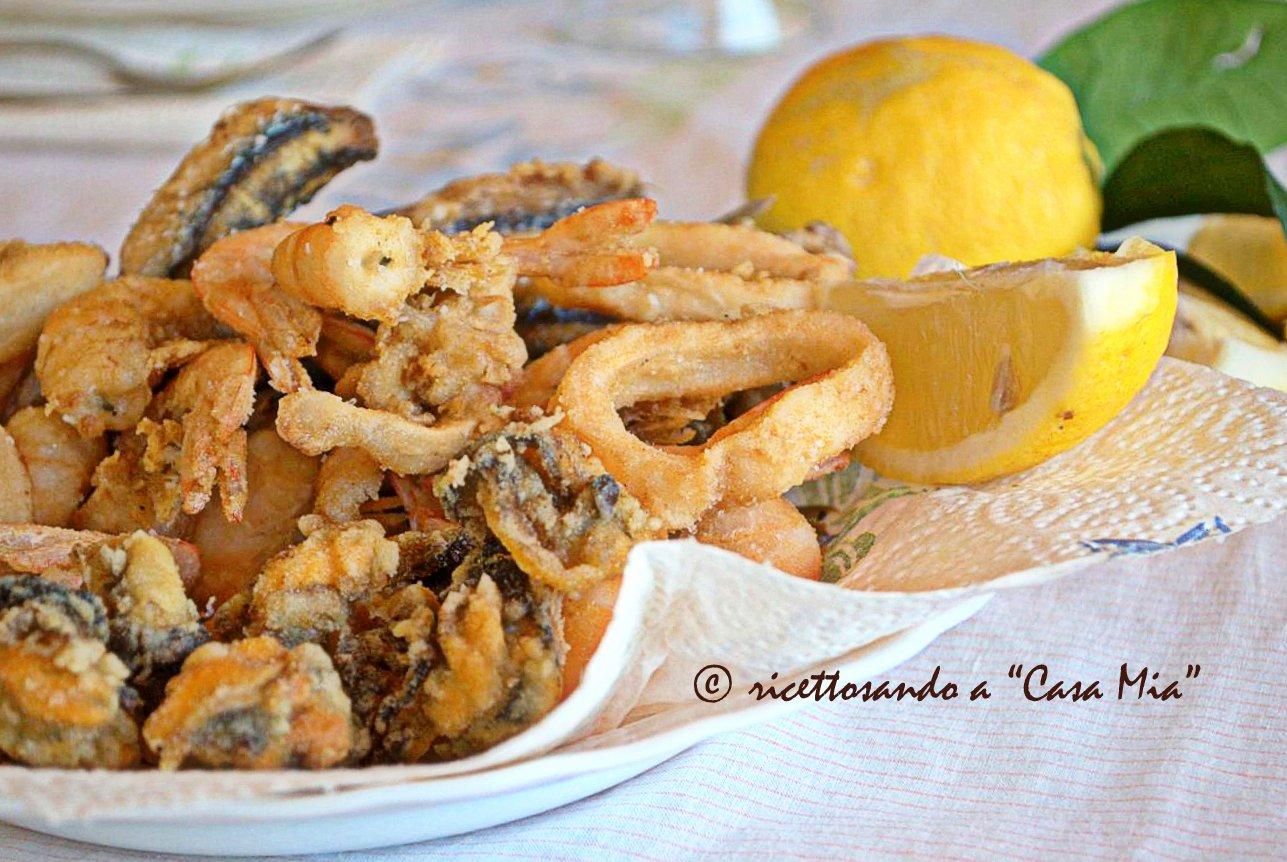 Fritto misto di pesce ricetta secondi piatti di pesce