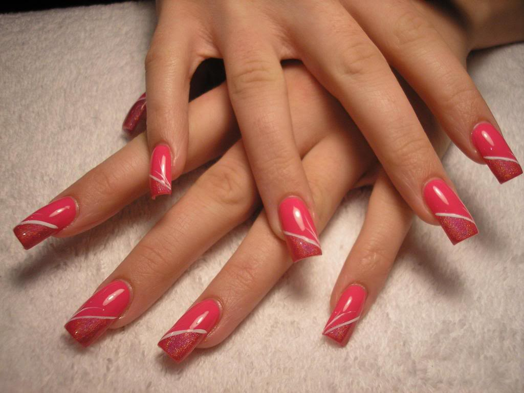 20 gel nail art designs ideas trends stickers 2014 for Acrylic nail decoration