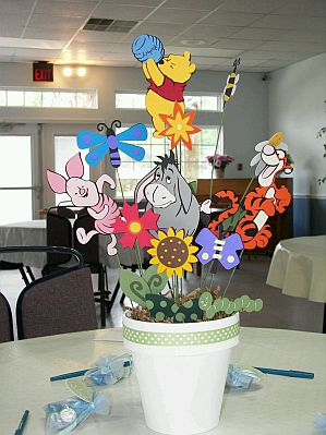 Decoracion mesas para fiestas infantiles winnie pooh for Decoracion winnie pooh para fiesta infantil