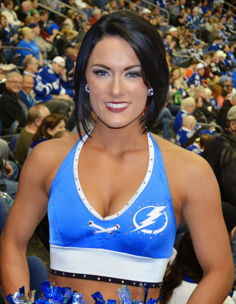 Pro Cheerleader Heaven Tampa Bay Lightning Ice Girls