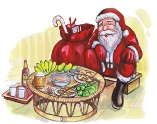 Santa on Laofood