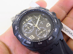 SWATCH CHRONOGRAPH BLACK CASE