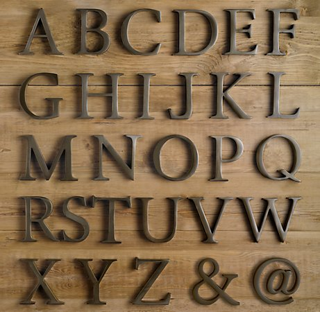 Metal Letters On Wood Entrancing Dwelling Room Interiors Aged Metal Letters Tutorial Design Ideas