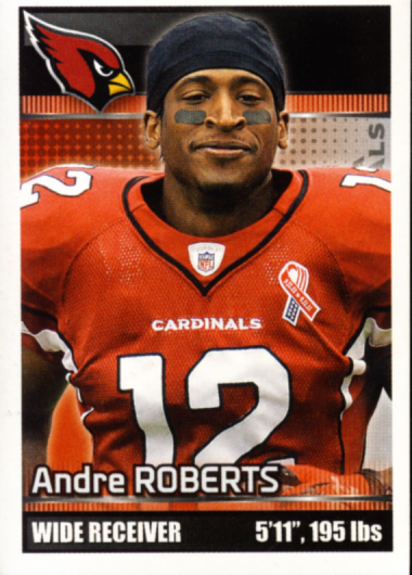 All about cards panini nfl player of the day contest time for Andre robert