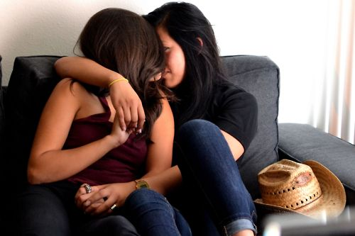 Besos calientes lesbianas sexy