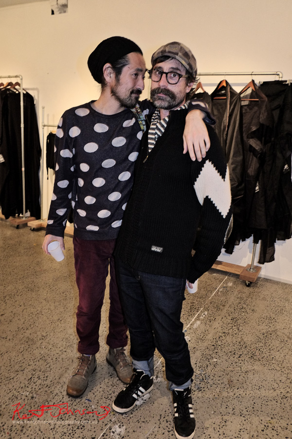 Men of Street Fashion Sydney, spots vs stripes. Brand X Creative Retail Residency