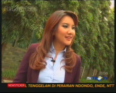 Foto Profile Presenter Seksi Aviani Malik Presenter Metro TV