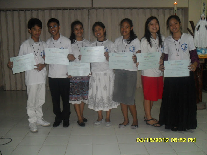 SPIRITUAL RENEWAL SEMINAR BATCH 3, APRIL 20-22, 2012