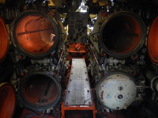 U-480 Foxtrot Zeebrugge torpedo launcher