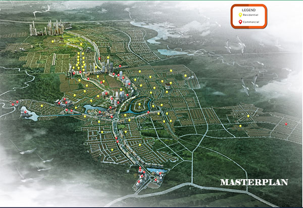 Masterplan CitraRaya Tangerang