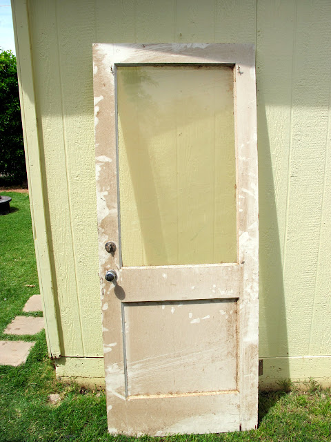 how to hang a new door in an existing frame