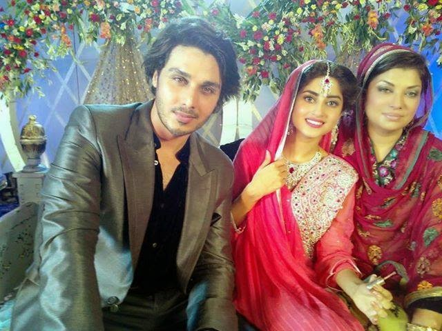 Sajal Ali Wedding Album - Unseen Pictures - B & G Fashion