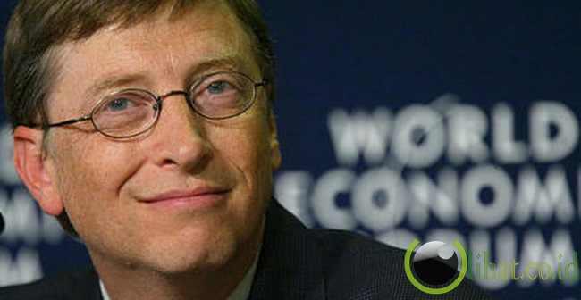 Bill Gates (pendiri dan pemilik Gates Foundation)