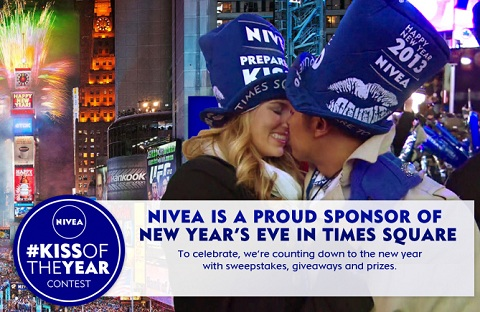 Nivea Kiss of the Year