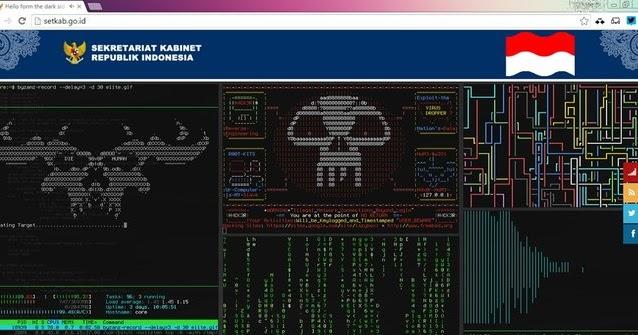 Website Setkab Kena Hack Retas Sedang Ditangani Filenya