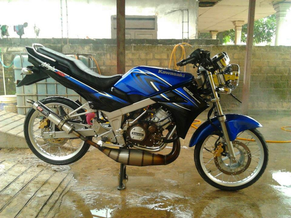 referensi modifikasi motor ninja ss