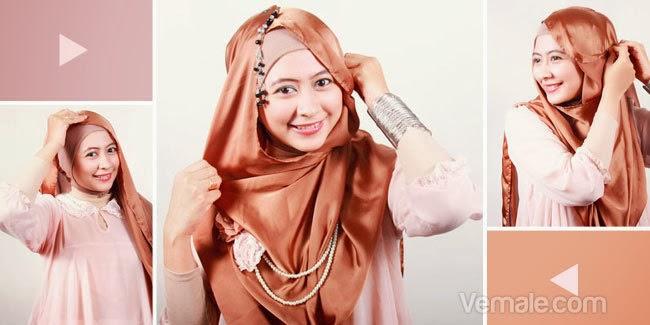 Ini akan memberikan tips jilbab praktis untuk event-event spesial