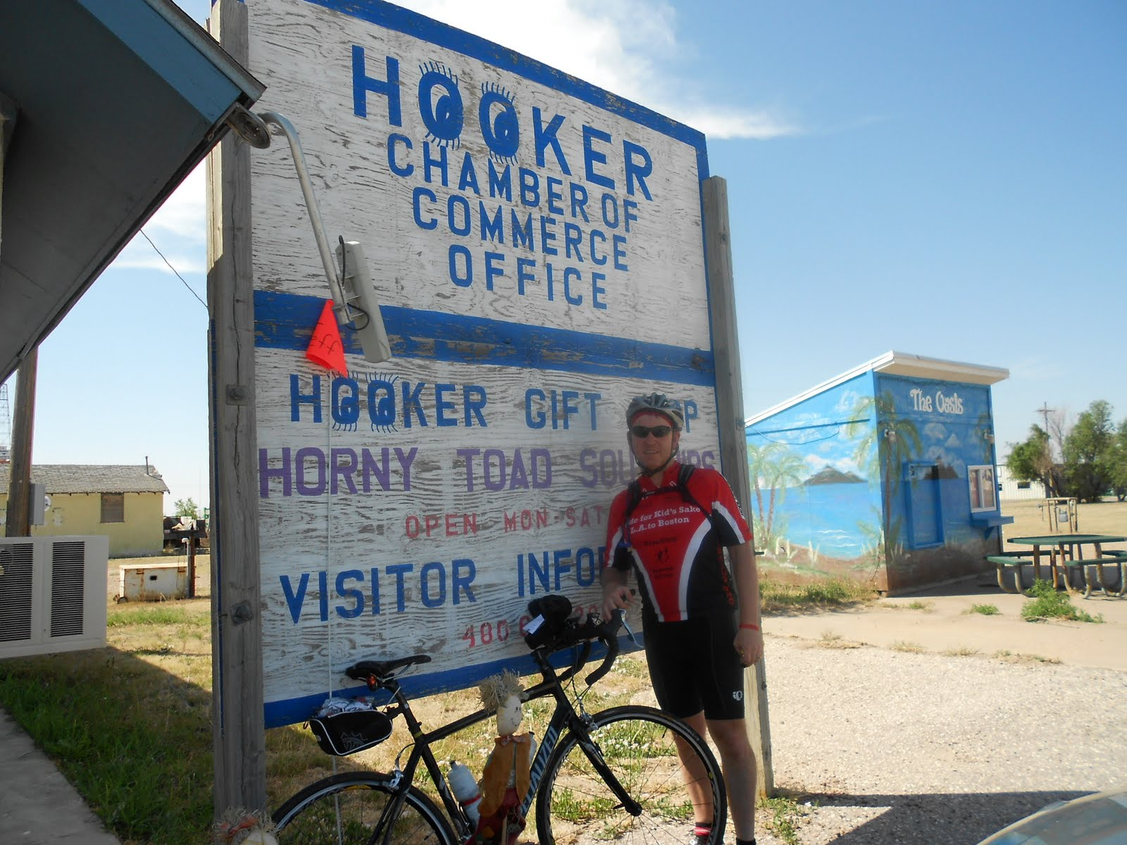 Ride For Kid\'s Sake: Day 19 - Hookers, Liberals, Dorothy and Toto ...