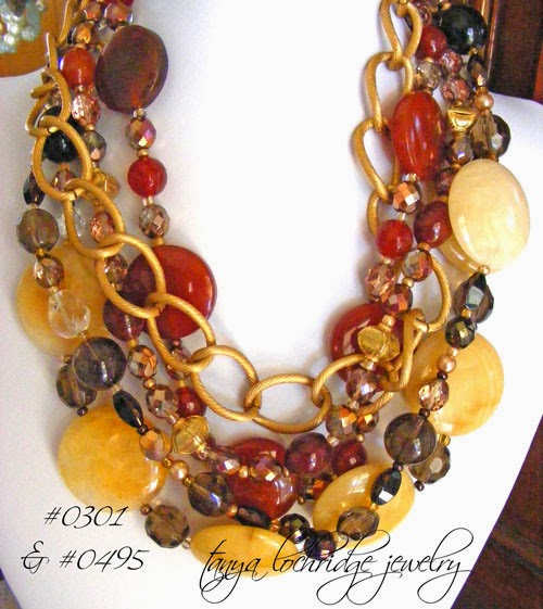 Carnelian, Jade & Gold Vermeil Necklace