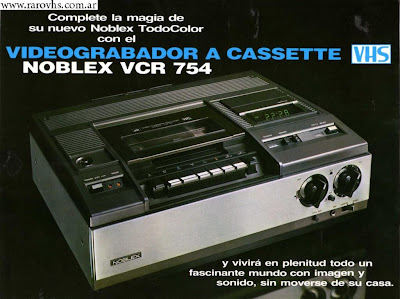 Noblex VCR 754