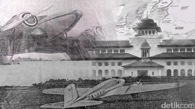 Pesawat Pertama Buatan Anak Bangsa yang Gegerkan Eropa di Tahun 1935