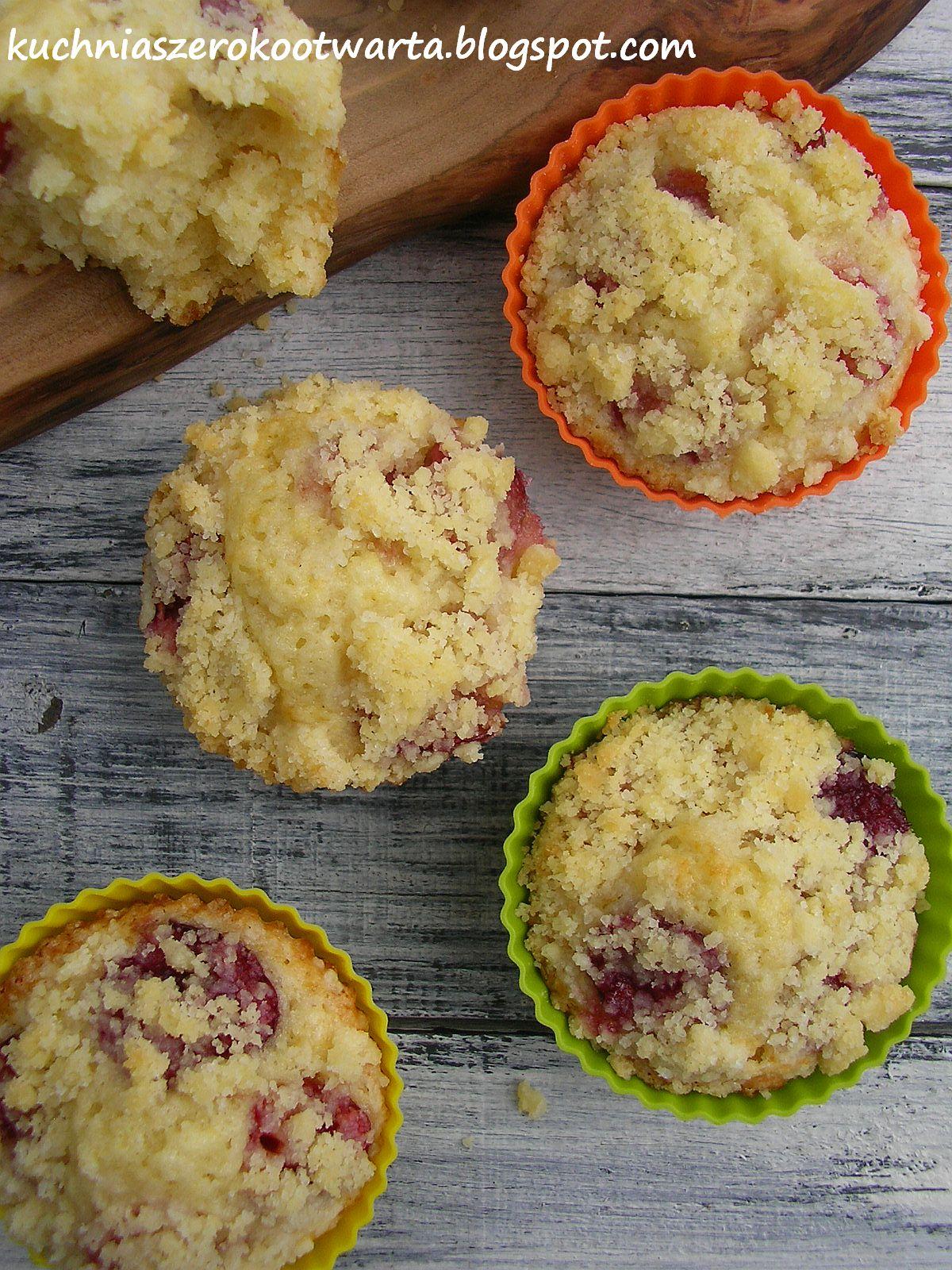 Kuchnia Szeroko Otwarta Muffinki Z Czeresniami I Kruszonka