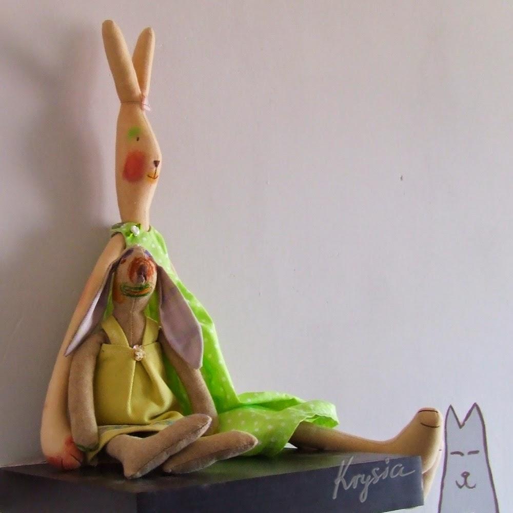 zajączek Maileg, króliczek tilda
