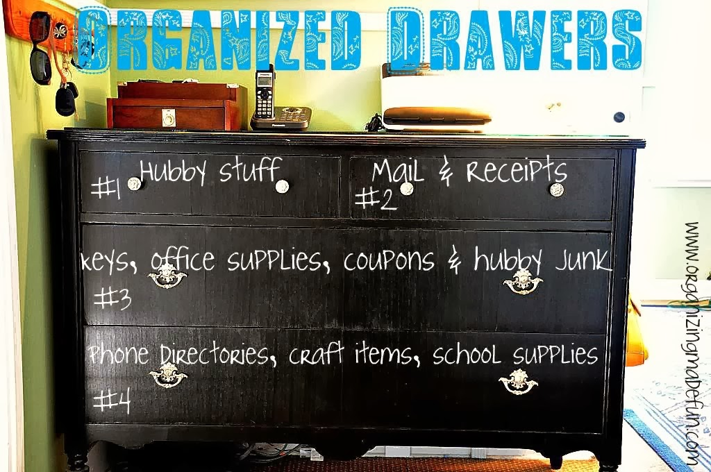 Organizing Made Fun: 31 Days of Spontaneous Organizing - Day #19 ...