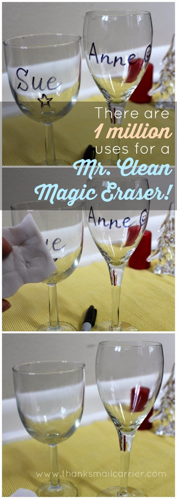 Mr. Clean Magic Eraser uses