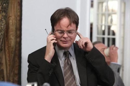 Rainn Wilson The Office Backstrom NBC CBS detective Dwight Schrute